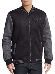 Buffalo David Bitton Jearvin Raglan Jacket Black