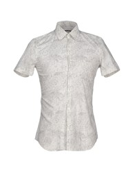 Xacus Shirts Shirts Men Ivory