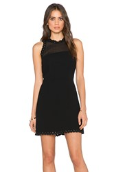 Sam Edelman Scalloped Edge Dress Black