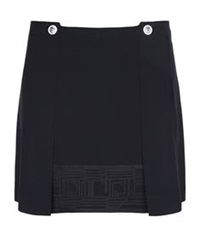Versus By Versace Key Trim Mini Skirt Black