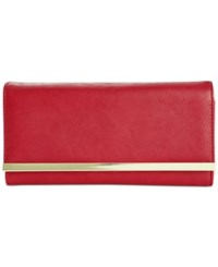 Styleandco. Style And Co. Clutch Wallet Only At Macy's Barn Red