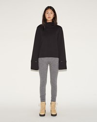 Acne Studios Jong Alpaca Leggings Grey