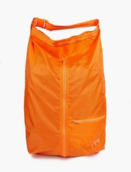 Y 3 Orange Packable Backpack