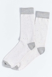 Urban Outfitters Nep Sock Cream