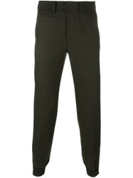 Alexander Wang Tapered Trousers Green