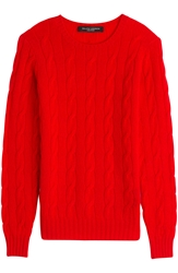 Ralph Lauren Black Label Cashmere Cable Knit Pullover