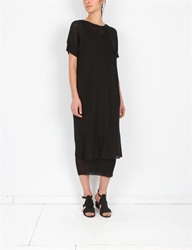 Creatures Of Comfort Boyfriend T Dress Black