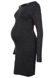 Noppies Kat Jersey Dress Antrazit Mottled Anthracite