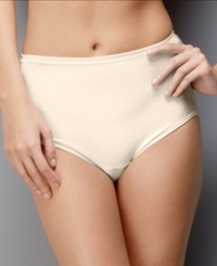 Vanity Fair Plus Size Body Shine Illumination Brief 13109 Sweet Creme