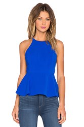 Lovers Friends X Revolve Bahama Peplum Tank Top Blue