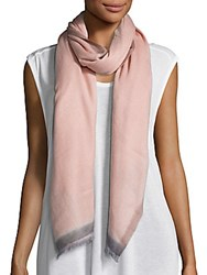 Bajra Cashmere And Silk Scarf Rose