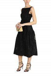 Erdem Adelle Coupe Dress Black