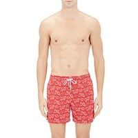 Roda Bandana Print Board Shorts Red