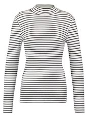 Vila Vifalls Long Sleeved Top Snow White Off White