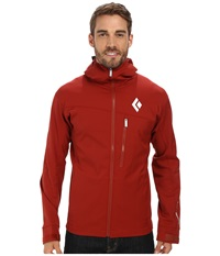 Black Diamond Dawn Patrol Lt Shell Deep Torch Men's Clothing Red