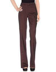 Ballantyne Trousers Casual Trousers Women Maroon