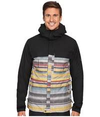 686 Authentic Moniker Insulatd Jacket Blanket Color Block Men's Coat Multi