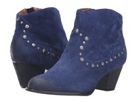 Corso Como Berkshire Navy Suede Women's Shoes Blue