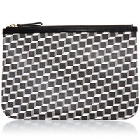 Pierre Hardy Canvas Cube Pouch L Black