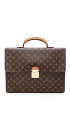 Wgaca Vintage Louis Vuitton Monogram Robusto Briefcase