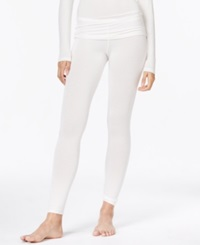 Cuddl Duds Softwear Stretch Leggings Ivory