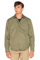 Outerknown Evolution Reversible Jacket Olive