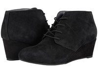 Vionic Elevated Becca Wedge Lace Up Black Women's Wedge Shoes