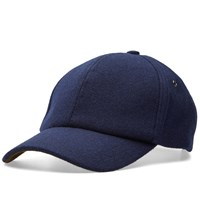 Paul Smith Melton Wool Cap Blue