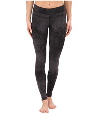 Studio Hatha Legging Lucy Black Distressed Print Women's Workout