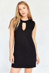 Truly Madly Deeply Cutout T Shirt Mini Dress Black