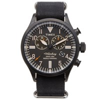 Timex Archive Waterbury Chrono Watch Black