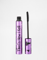 Barry M That's How I Roll Curling Mascara Black