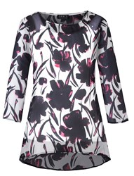 Grace Made In Britain Chiffon Tunic Pink