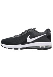 Nike Performance Air Max Full Ride Tr Sports Shoes Black White Anthracite Dark Grey