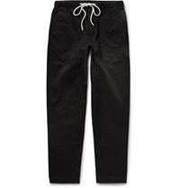 Fanmail Organic Cotton Twill Trousers Black
