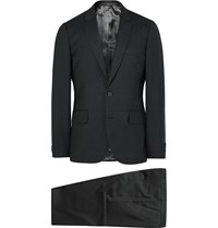 Paul Smith Grey A Suit To Travel In Soho Slim Fit Wool Suit Gray