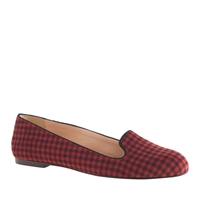 J.Crew Sophie Checkered Loafers