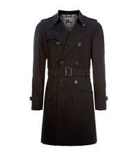 Burberry London The Wiltshire Long Heritage Trench Coat Male Black