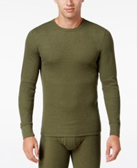 Alfani Men's Big And Tall Waffle Thermal Top Only At Macy's Fatigue B And T