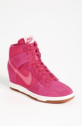 Nike 'Dunk Sky Hi' Wedge Sneaker Women Pink