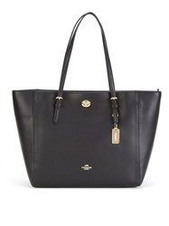 Coach Xgrain Updated Turnlock Tote Black