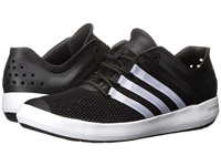 Adidas Outdoor Climacool Boat Pure Black Chalk White Silver Metallic Men's Shoes