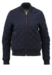 Khujo Coca Bomber Jacket Midnight Blue Dark Blue