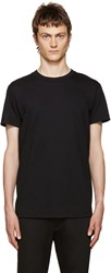 Naked And Famous Black Seamless T Shirt