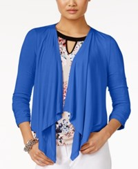 Grace Elements Open Front Draped Cardigan