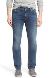 Men's Fidelity Denim 'Jimmy' Slim Straight Leg Jeans Oxy Colony Blue
