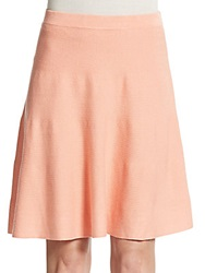 Romeo And Juliet Couture Rib Knit A Line Skirt Shrimp