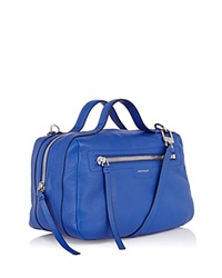 Karen Millen Satchel Sporty Double Handle Blue