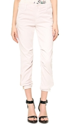 Mother The Misfit Gathered Ankle Pants Petunia
