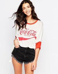 Wildfox Couture Wildfox Coca Cola Batwing T Shirt Vintage Lace